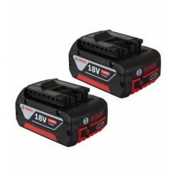 Набор аккумуляторов Bosch Li-Ion 1 x 18 В; 4,0Ah + 1 x AL1860 CV